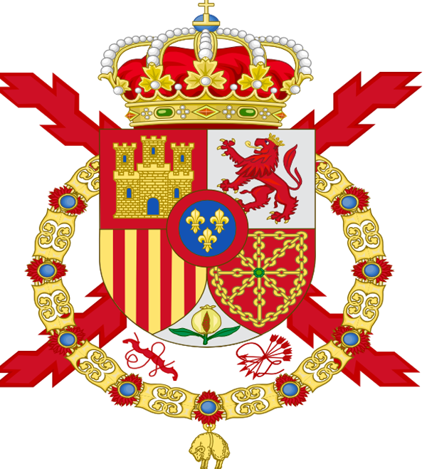 Coat of Arms of Spanish Monarch (Official).