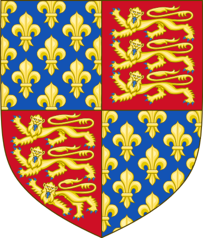 Royal arms of England and France (1340-1367)