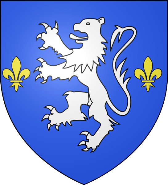 Examples of shield with single or multiple colors: Shield of Nogent le Rotrou