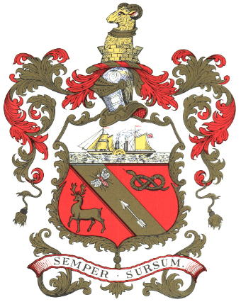 The coat of arms of Barrow-in-Furness