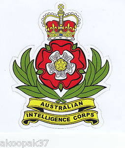 The Australian Intelligence Corps arms
