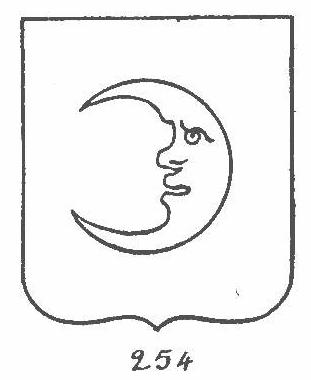 crescent with human face