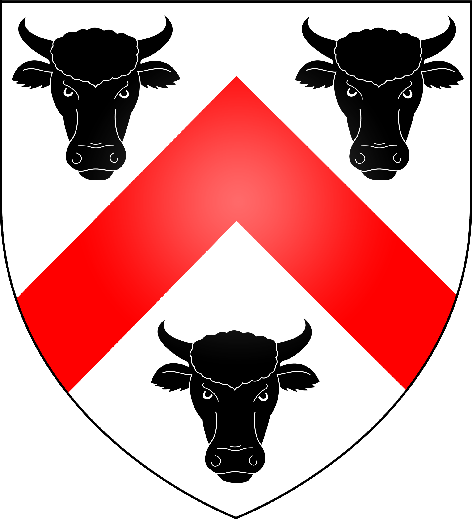 The coat of arms of the Boleyn family