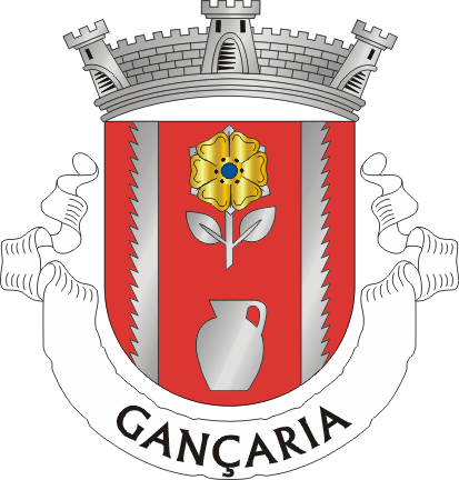 The coat of arms of the town of Gançaria